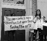 "Students Accuse University Of North Carolina Of ""Artwashing"" In Arts Campaign"