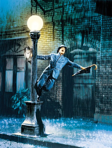 Resultado de imagem para singing in the rain scene