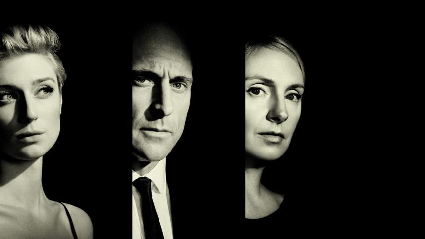 Elizabeth Debicki, Mark Strong,Anna Skellern, photo: National Theatre
