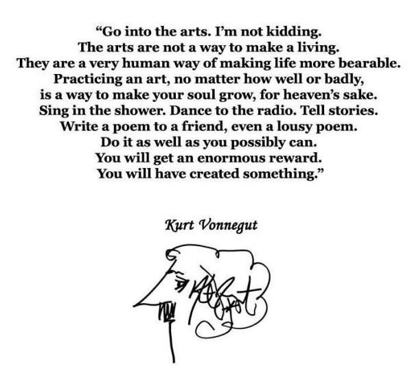 Vonnegut on the Arts
