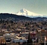 Portland Sidebar: The Mountain Is Out