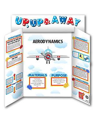 Make a Science Fair Project  Poster Ideas  How Airplanes