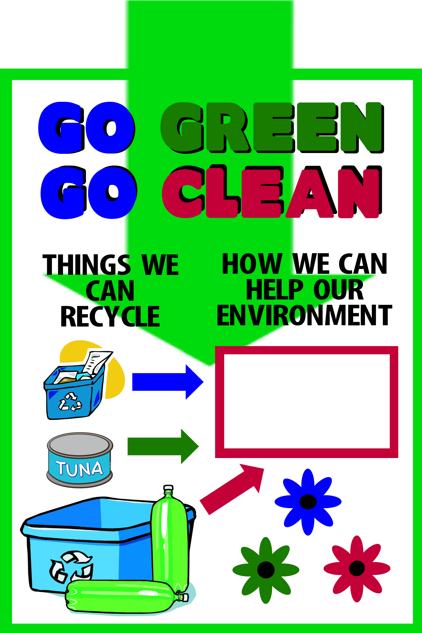 Make A Poster About Recycling