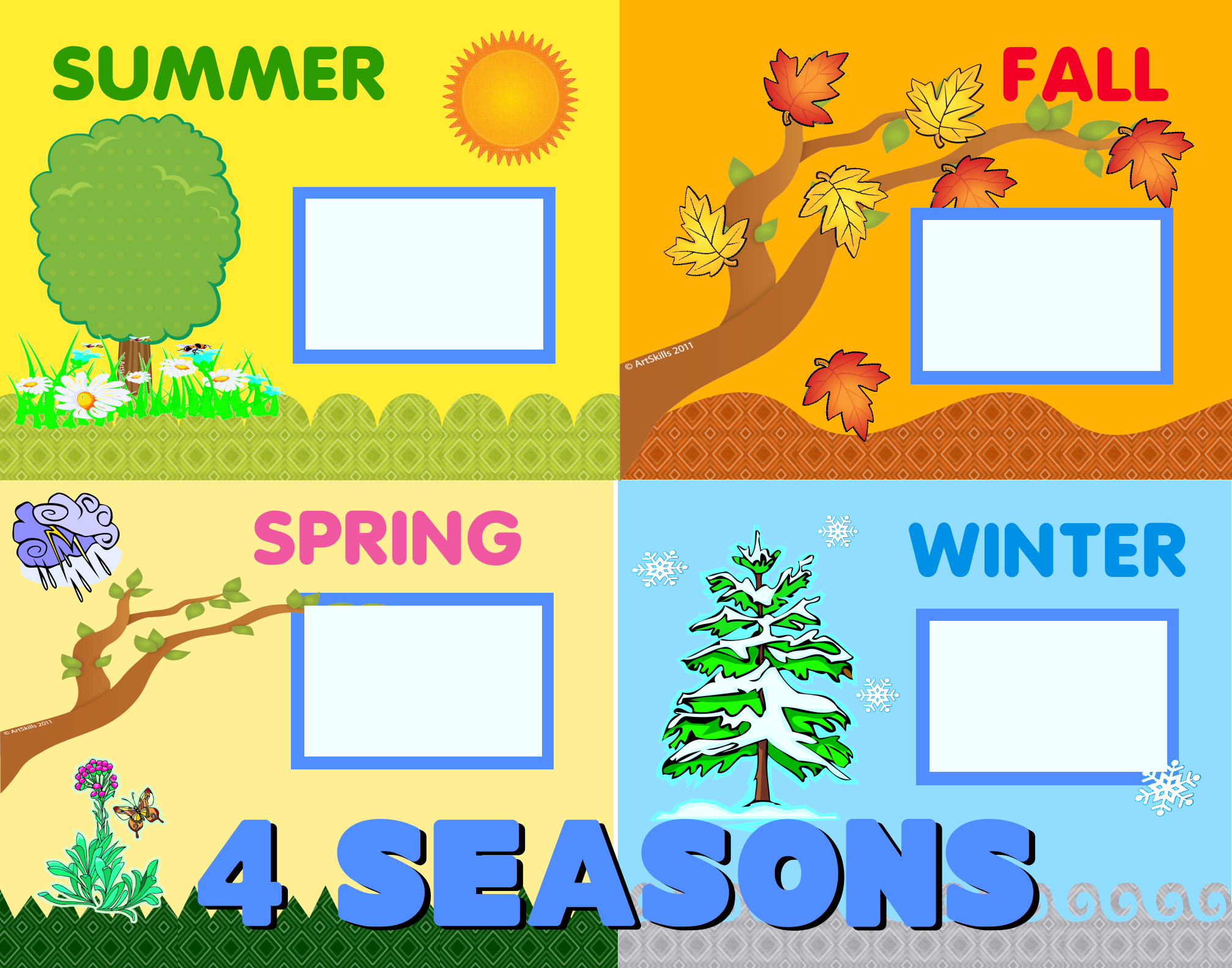 Create A 4 Seasons Poster