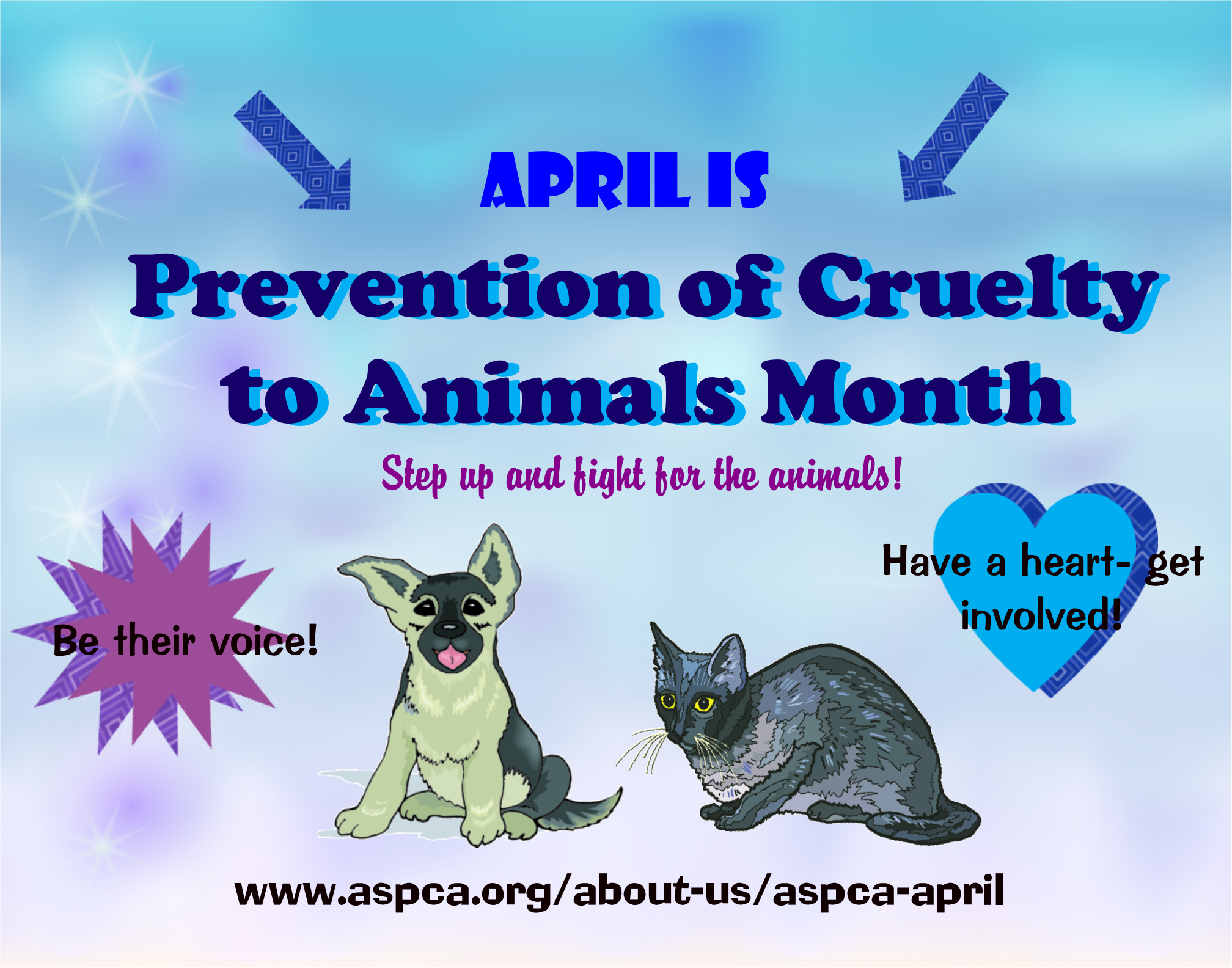 Make An Animal Cruelty Prevention Poster