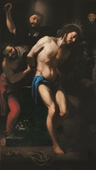 Agostino Melissi (? 1615/1616 circa - Firenze, 1683) Flagellazione di Cristo alla colonna 1653 Firenze, Seminario Arcivescovile
