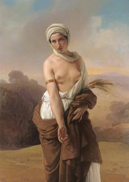 Francesco Hayez Ruth