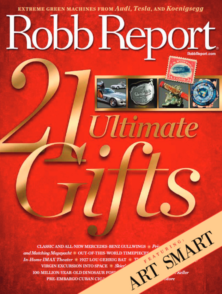 Art Smart in Robb Report