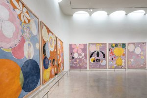 Hilma af Klint at the Guggenheim Museum in NYC