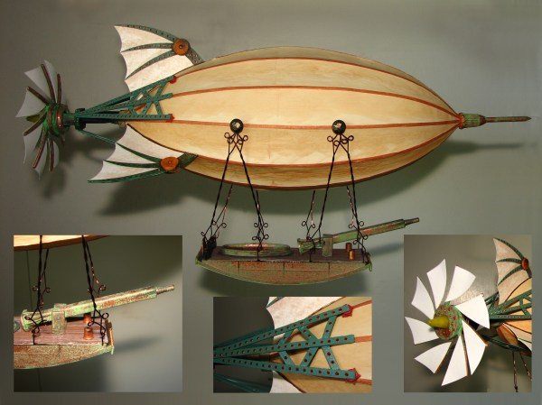 Small Airship 1 Dr. Steampunk Artsmith Craftworks