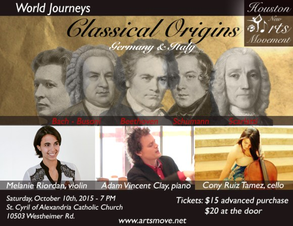 Classical Origins flier