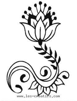 Traditional Indian motifs