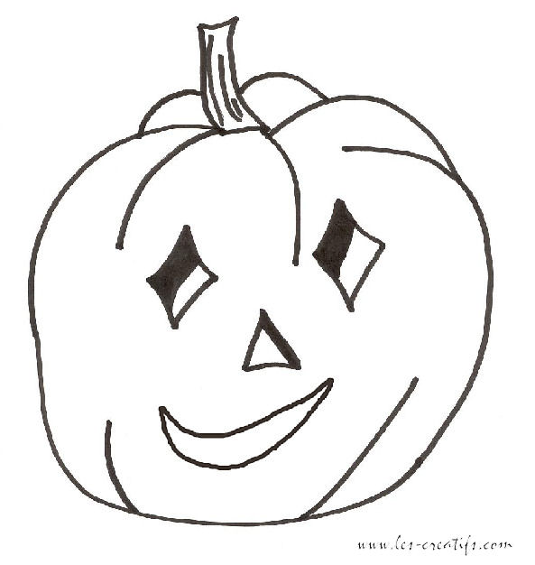 Kids' Halloween coloring pages