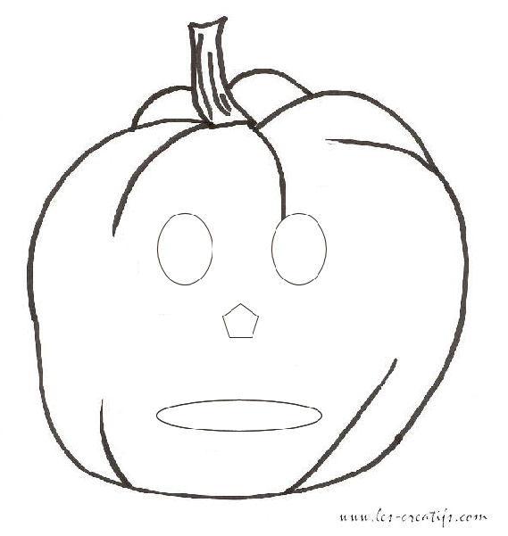 Kids' Halloween masks to print out