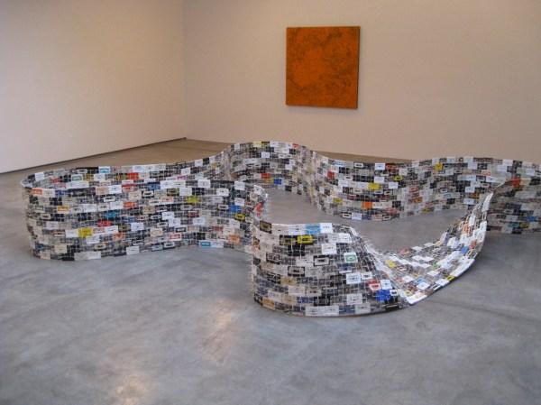 Retro Cassettes Christian Marclay Created Modern Sculpture Arts Observer
