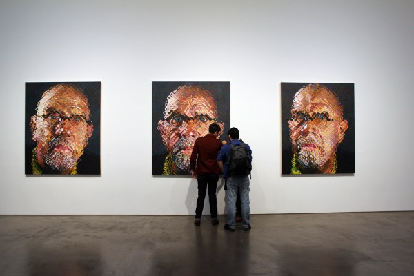 Portraits Chuck Close And Friends Pace