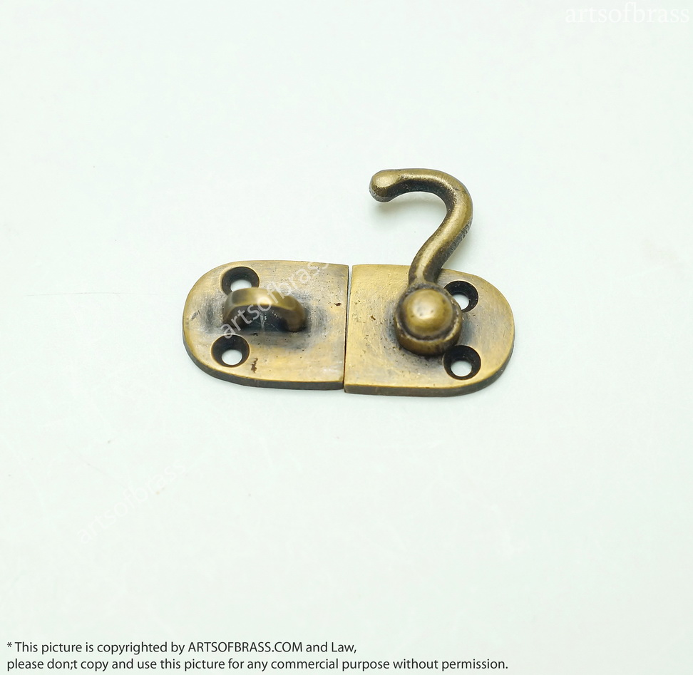 1 96 Quot 4 Pcs Vintage Box Drawer Cabinet Door Latch Joint