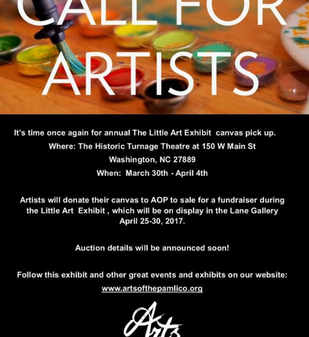 Little Art Exhibit Fundraiser