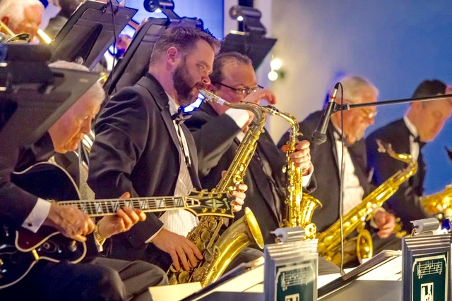 Emerald City Big Band at the Historic Turnage Theatre