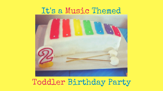 Its A Music Themed Birthday Party