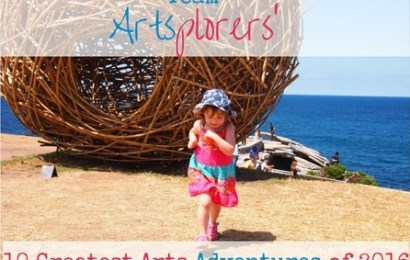 Team Artsplorers' 10 Greatest Arts Adventures of 2016!