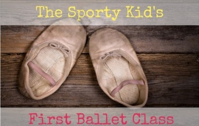 The Sporty Kid's First Ballet Class