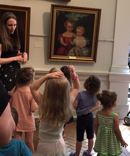 Tours For Tots - Art Gallery of NSW