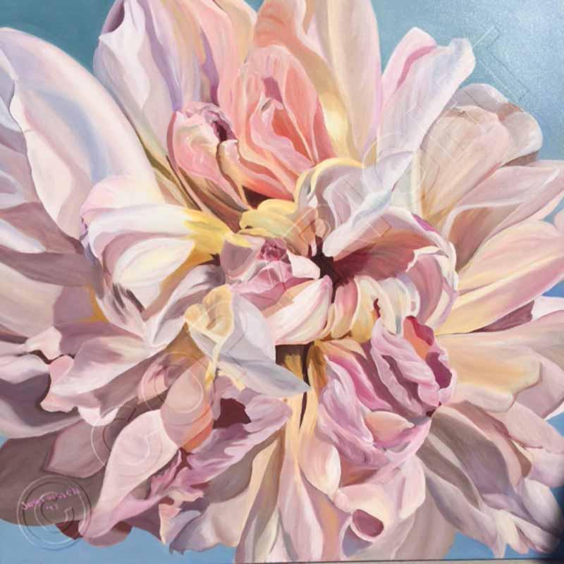 flower paintings art for
