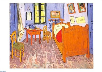 Trois versions presque identiques réalisées par Van Gogh.