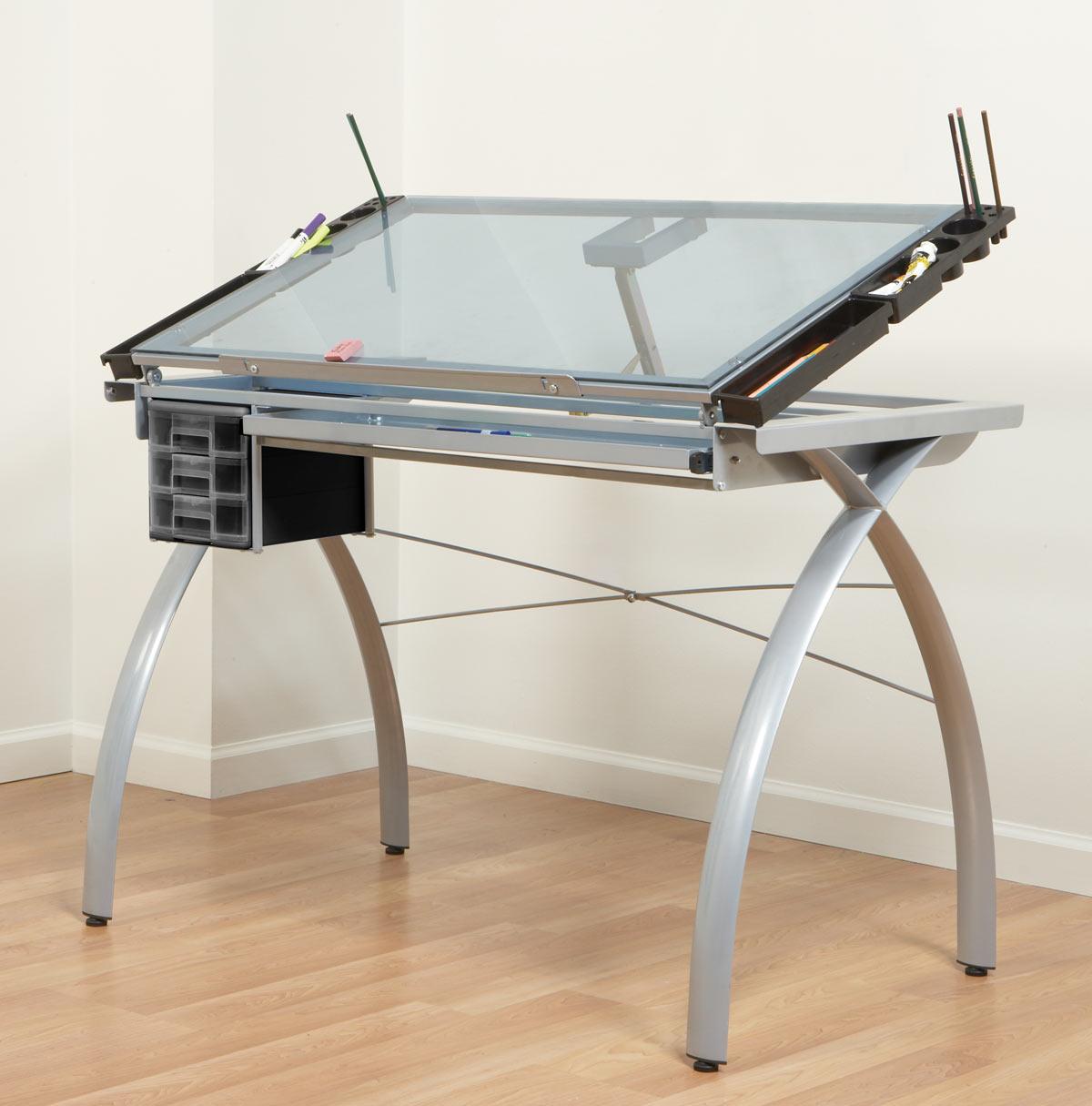 folding floor chair australia foldable quad studio rta design futura glass top drafting table