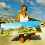 Bonaire oil paintings