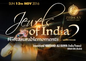 Jewels of India 2 at Emperors Palace on 13 November