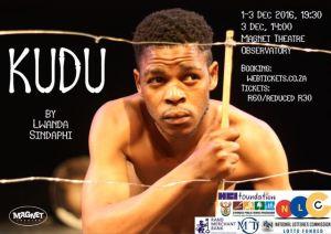 Lwanda Sindaphi presents his new play Kudu in December.