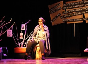 Ayanda Sibisi in Chapter 2 Section 9. Pic by Charmaine Carol