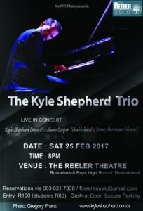 Kyle Shepherd Trio Poster