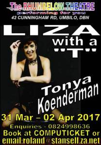 Liza with a T Poster