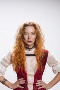 Jennifer Steyn in Scenes from an Execution. Pic by Oscar O'Ryan.