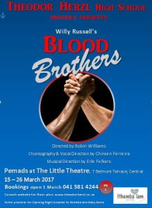 Theodor Herzl High School - Blood Brothers