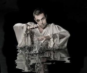 Marcel Meyer as Hamlet. Photo by Fiona MacPherson.