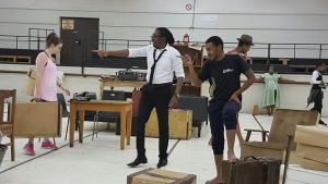 Sophiatown cast in rehearsal at the SA State Theatre