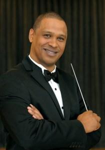Brandon Phillips, conductor of the CTPO.
