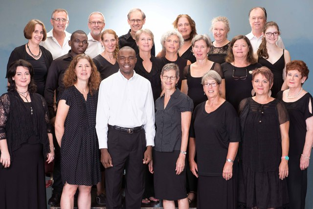 The Durban Chamber Choir pictured by photographer Val Adamson