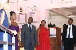 Gauteng Opera - IT Corner. Left to right: Zita Pretorius, Litho Nqai, Solly Motaung, Khayakazi Madlala and Chuma Sijeqa. Photo taken by Gauteng Opera on 30 April 2017