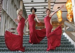 Kat Gilardi, Angel La Lamore and Tiara Skye from the Group 3D