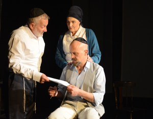 My Name is Asher Lev, a play by Aaron Posner, adapted from the novel by Chaim Potok.