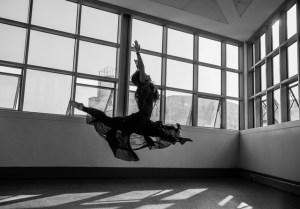 Ballet dancer Katherine Anderson