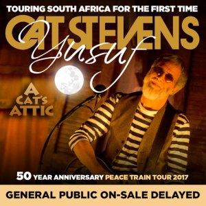 Cat Stevens SA Tour - Online sales delay