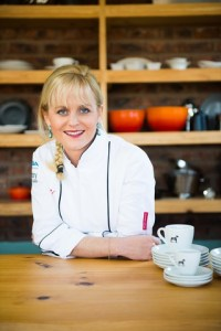 Jackie Cameron whose students will be staffing the Bistro at the Hilton Arts Festival - Pic by Chris Allen.