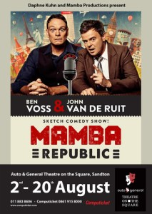 Mamba Republic at the Auto & General Theatre on the Square