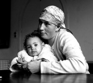 Regina Brooks and Thandi in 1955 by Bob Gasani (Bailey Seipel Gallery)